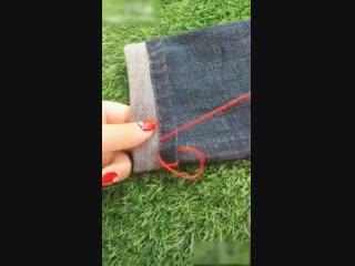 Женские Хитрости (vk.com/womantrlck) ремонт и украшение одежды