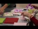 Фабрика идей подушка в технике пэчворк лоскутное шитьё