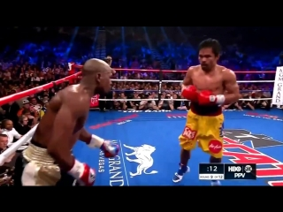 Floyd mayweather jr vs manny pacquiao highlights