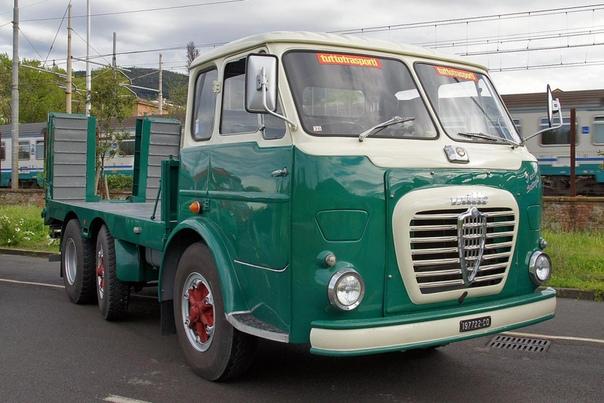 Магистральный тягач Alfa Romeo, как вам