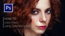 Photoshop Tutorial. High End Color Grade and Retouching women portrait