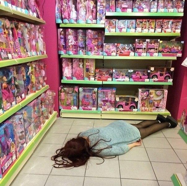 фото девчонки с игрушками