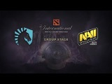 Na`Vi.us -vs- Liquid, The International 4, Group Stage, Day 1