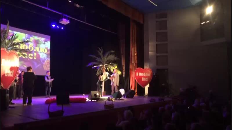 Финал концерта в Вологде (14.10.2018, ДК ПЗ)