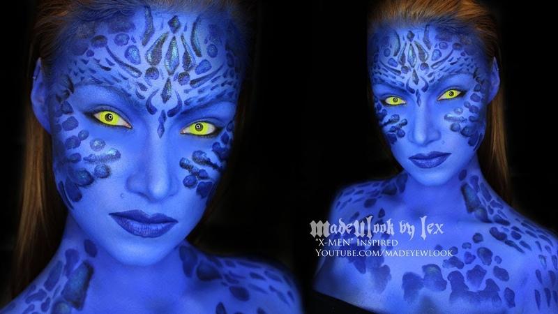Mystique (X-Men) Makeup Tutorial AND ANNOUNCEMENT