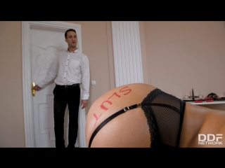 Handcuffed, spanked & ass fucked - ania kinski