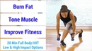HIIT 64: 20 minute full body HIIT workout to burn fat, build muscle, increase fitness