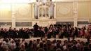 Фрагменты выступления Симфонического оркестра Карельской филармонии в Государственной академической