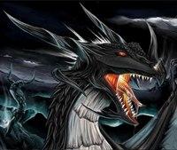 """Вышивка крестом. scorpion2712.  180x144 крестов * 48 цветов * Теги.  Предпросмотр.  Схема вышивки  """"Дракон """"."""