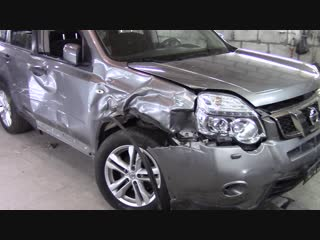 Кузовной ремонт Nissan X-Trail.