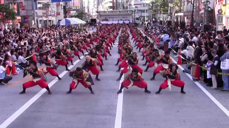 【公式】踊り侍 13JOKER 東京よさこい 2日目 アゼリア通り