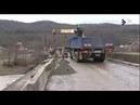 Ремонт моста в Георгиевском