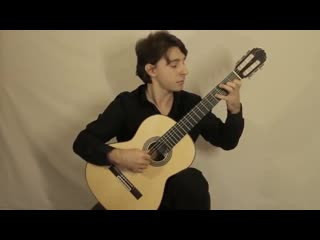 Мануков Александр, И.С.Бах - Аллегро из сонаты для скрипки соло №2, М.Джулиани - Вариации на тему Г.Ф.Генделя