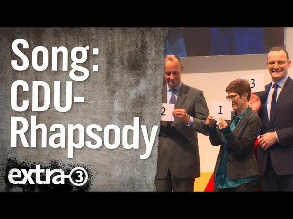Song: CDU-Rhapsody | extra 3 | NDR