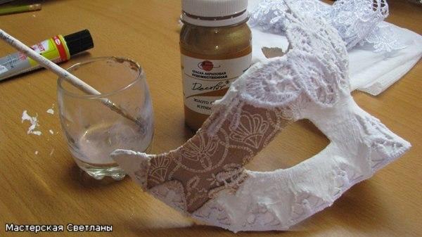 Карнавальные маски своими руками мастер класс