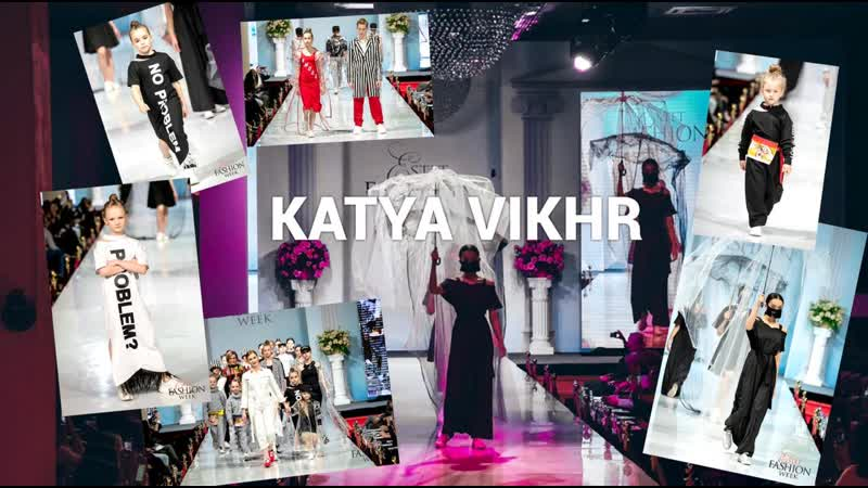 KATYA VIKHR by KIM PROduction on ESTET FASHION WEEK 2019