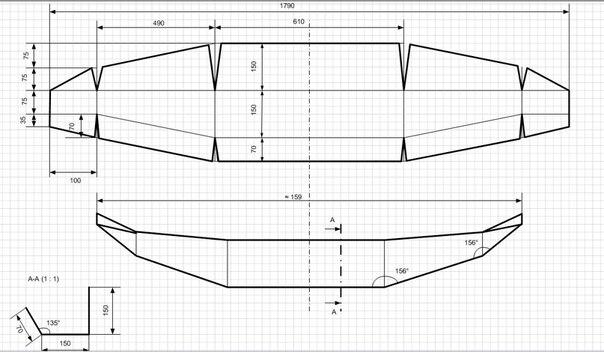 Схема силовых бамперов