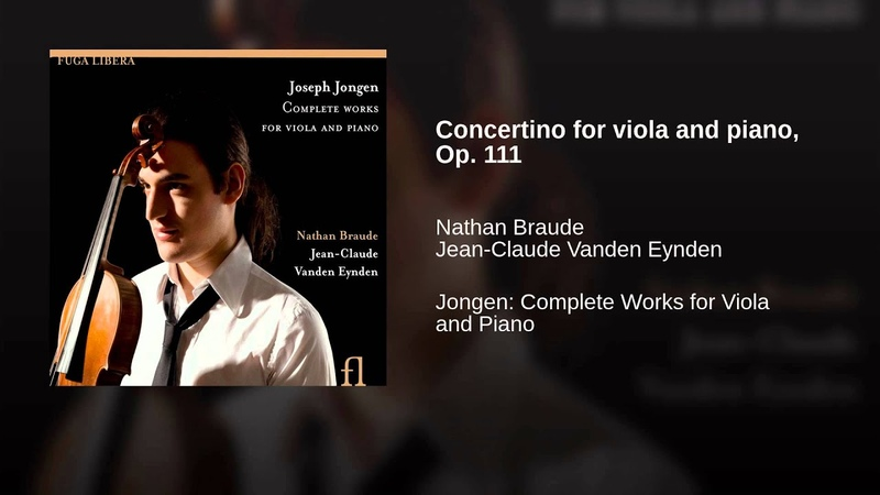 Concertino for viola and piano, Op. 111