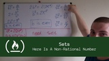 Maths for Programmers Sets (Here Is A Non-Rational Number)