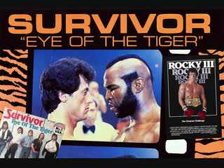 Survivor - Eye Of The Tiger (Official Music Video)