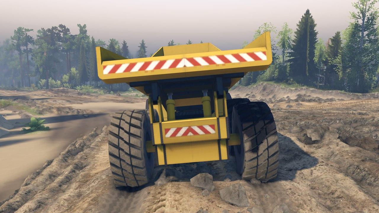 Dump Truck L v0.01 для версии 22.07.15(Бета!) для Spintires - Скриншот 3