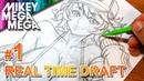 Real Time FANART TUTORIAL - Pencil Draft