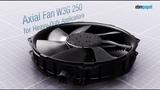 Energy-efficiency for heavy-duty applications The axial fan W3G 250 by ebm-papst
