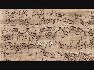 656 J. S. Bach - Chorale prelude O Lamm Gottes, unschuldig (Leipzig Chorales 6/18) BWV 656 - Jean Baptiste Dupont, organ