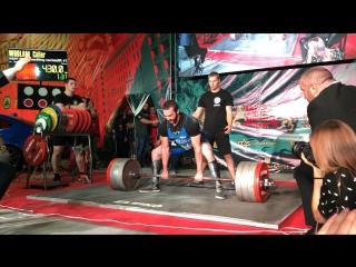Woolam Cailer становая тяга 430 кг