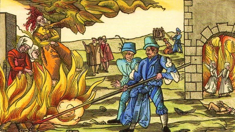 Охота на ведьм рассказывает историк Ольга Тогоева