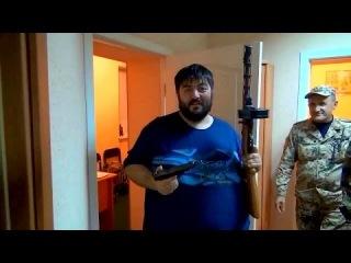 Донецк. Осетины в составе батальона «Восток»