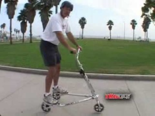 How to Ride a Trikke (9) : Weight Transfer