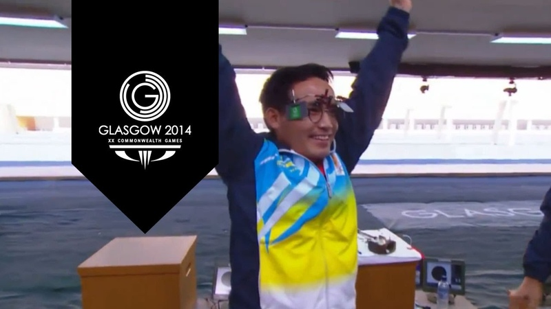 India's Jitu Rai takes Gold | 50m Pistol Men's Final | Day 5 XX Commonwealth Games
