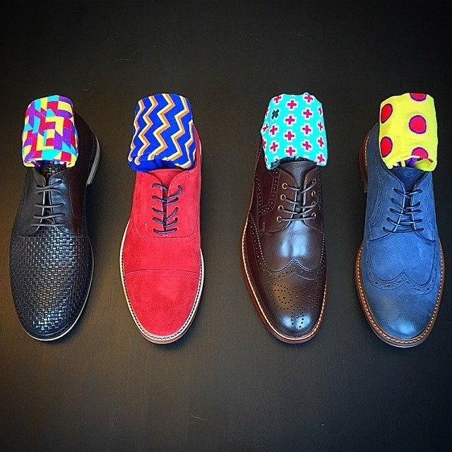 Цвет носков: советы