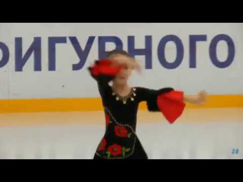 Ilina Askarova(2013), 2018.04.26 Evgeni Plushenko's Cup
