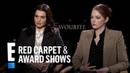 Emma Stone Teaches Rachel Weisz What 'Breaking' Means E Red Carpet Award Shows