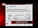 Nota - Promperu responde por costo de videoclip de Carlos Vives