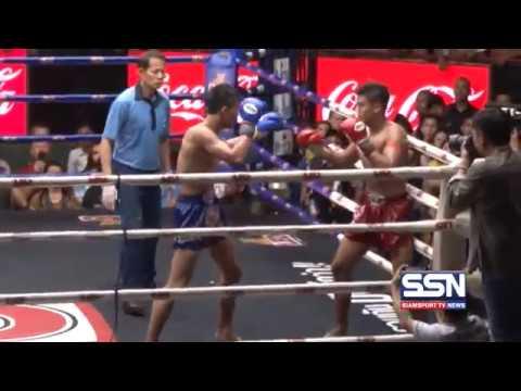 ไฮไลต์มวยไทย แสงมณี แสงมณียิม (แดง) vs หนึ่ง