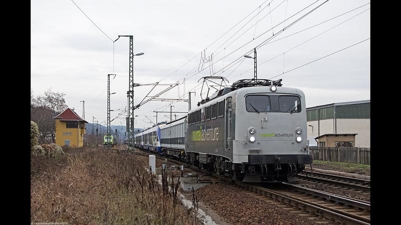 Railadventure ex HEX-Lint Überführung, HSL, CD Cargo, Metrans uvm. rund um Dresden