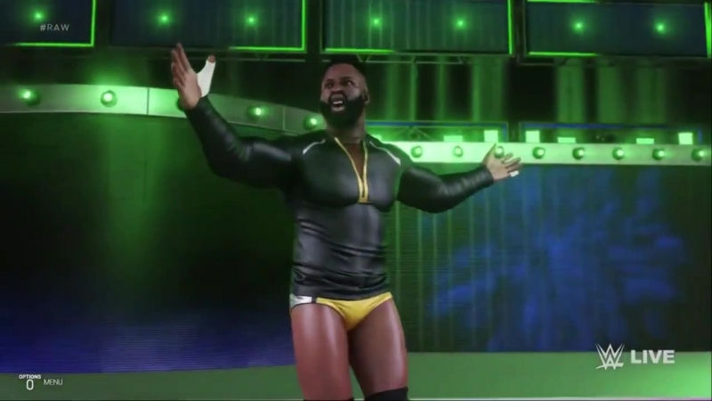 WWE 2k19 Сedric Alexander Entrance