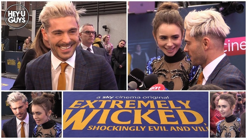 Extremely Wicked, Shockingly Evil, and Vile Premiere - Zac Efron Lily Collins