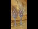 Свадебные бокалы «Красивая пара»