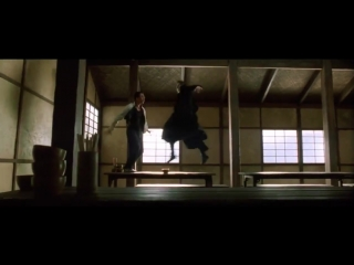 Keanu Reeves vs Collin Chou em Matrix Reloaded