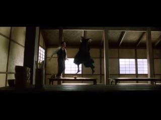 Keanu Reeves vs Collin Chou em Matrix Reloaded