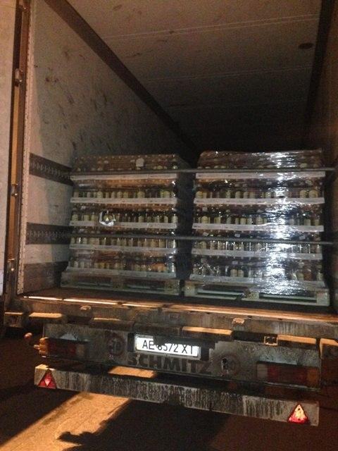 Таганрогская таможня: пресечена попытка незаконного вывоза на Украину почти 45 тысяч бутылок лимонада «ОТ ВИНТА»