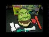 Play Doh Shrek 2 Rotten Root Canal Playset Dentist Dr Drill N Fill Play Dough Hasbro