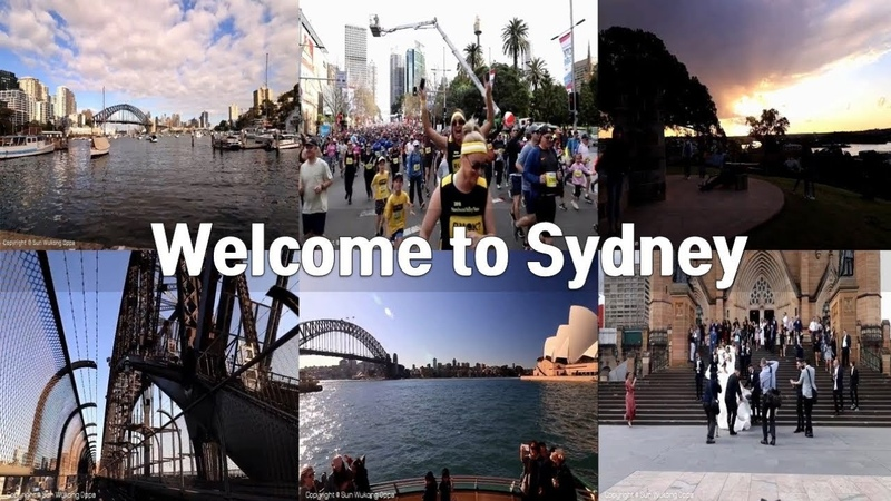 Welcome to Sydney | Let's Walk together with Sun Wukong Oppa (孙悟空欧巴 | 손오공 오빠)