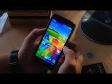 Распаковка копии Samsung Galaxy S5 с Aliexpress за 160$.