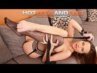 Subil arch [hd porn, brunette, solo, foot fetish, tease, legs, stockings, big tits, heels, orgasm]
