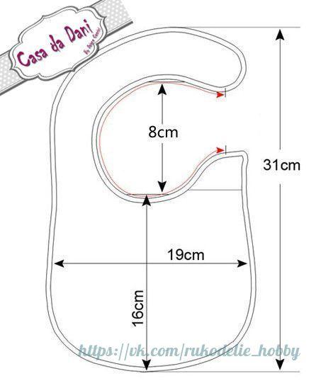 Ideas Para El Hogar Baberos Con Moldes De Costura Incluye Dos Modelos